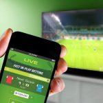 Apuesta de partido de fútbol en vivo por teléfono