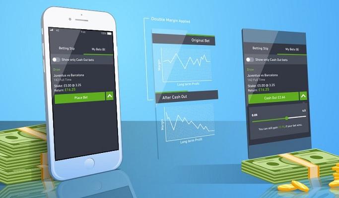 Aplicación de apuestas móvil con retiro